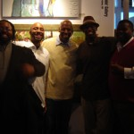 Hangin' out with Eli Kince, Wesley Clark, Charly Palmer, & Jamaal Sheats